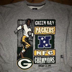Vintage Greenbay packers sweater